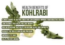 kohlrabi health benefits