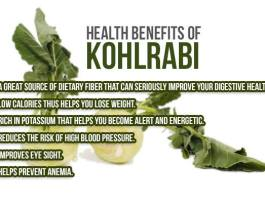 kohlrabi health benefits