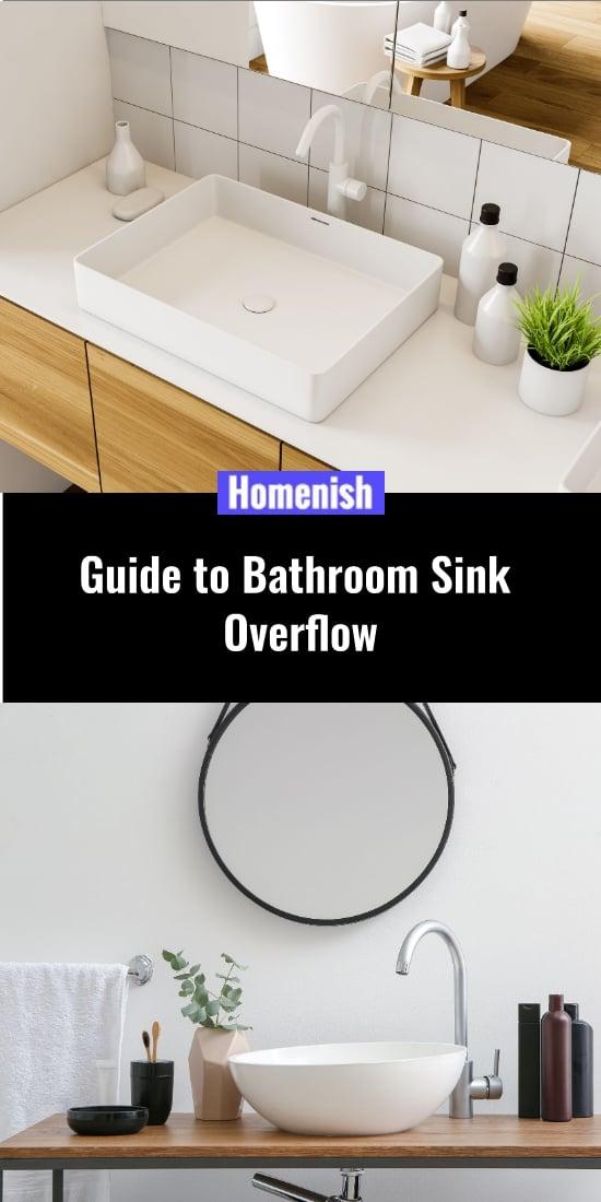 guide to bathroom sink overflow homenish