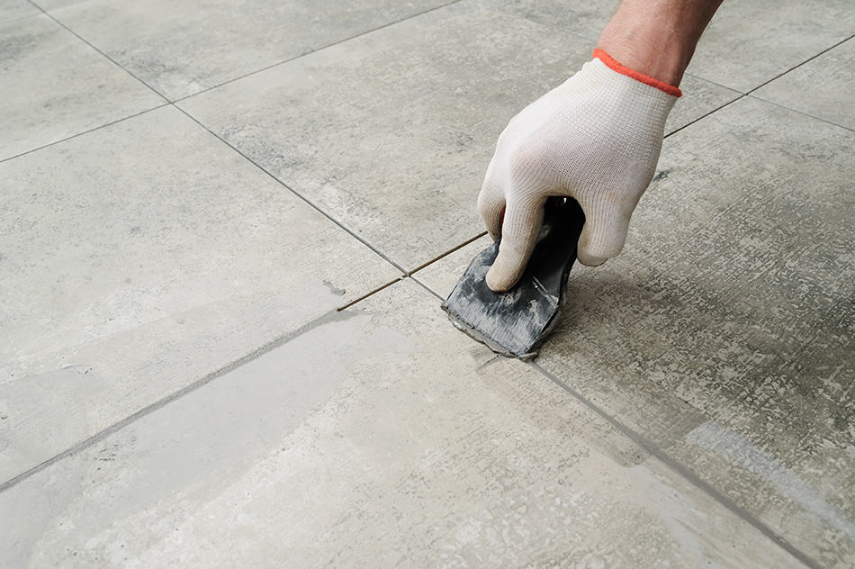 how to remove thinset mortar from tile