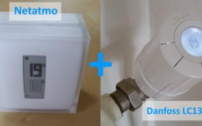 Coupler un Thermostat Netatmo avec des vannes Danfoss LC13 grâce à Jeedom