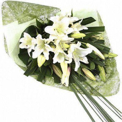 White Lily Wrap