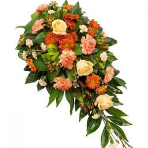 Autumn Spice -Funeral Spray