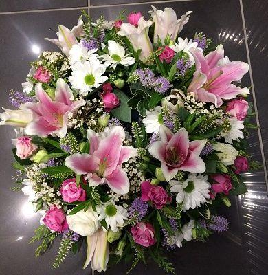 Sweet Infinity Funeral Posy