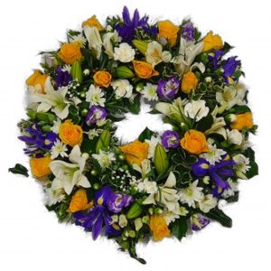Sweet Haven Funeral Wreath