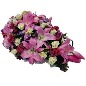 Pink Bliss Funeral Spray