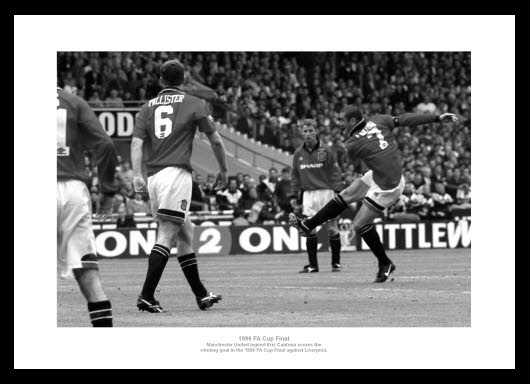 Personal philosophy was expressed in the book cantona on cantona (1996;. Manchester United 1996 FA Cup Final Eric Cantona Photo ...