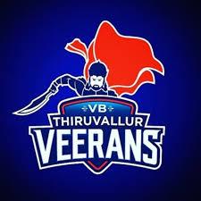 VB Thiruvallur Veerans FOR TAMIL NADU PREMIER LEAGUE, 2017