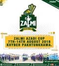 Zalmi Azaadi Cup 2018