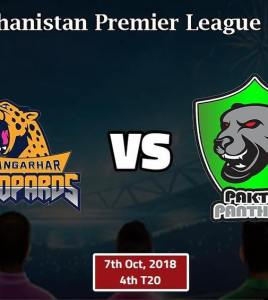 Nangarhar Leopards vs Paktia Panthers