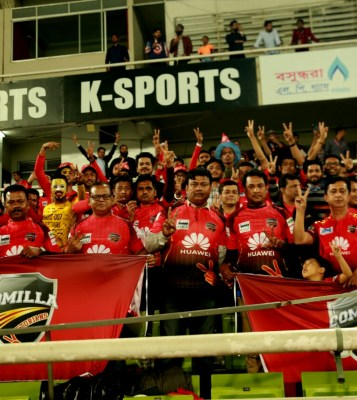 Comilla came out as a winner in the front of a capacity crowd