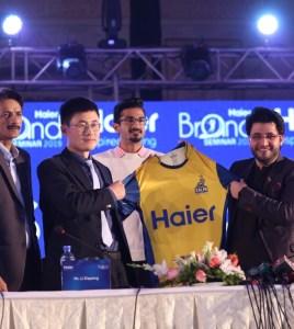 Haier will be the main Title Sponsor of Peshawar Zalmi