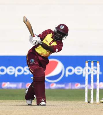 Windies cruised to a thumping 71-run victory in the first T20I in Karachi