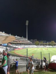 we are confident that today's T20 International will take place without any light interruptions