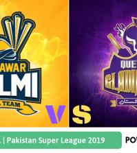 Pakistan Super League 2019 Final Peshawar Zalmi vs Quetta Gladiators
