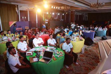 Deshpande, Joshi go big; Rongsen unexpected star in KPL Player Auction