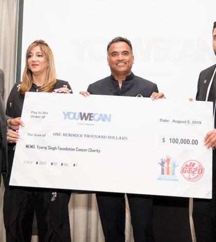 Yuvraj Singh's YOUWECAN Fundraiser A Huge Success