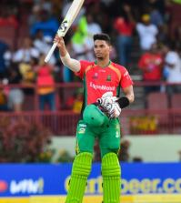 Guyana Amazon Warriors in the final thanks to King ton