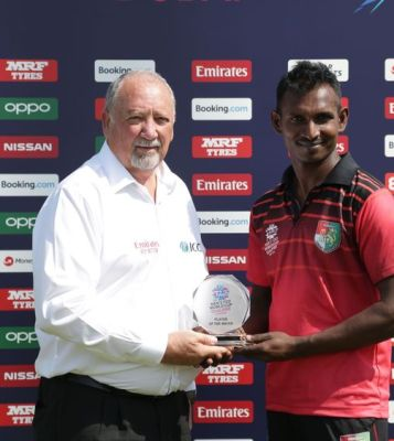 Singapore defeated Scotland in their opening ICC Men's T20 World Cup Qualifier