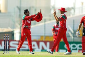 A record PNG batting partnership leads them to victory over Namibia at the ICC Men's T20 World Cup Qualifier
