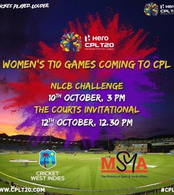 Hero CPL to host women's T10 matches