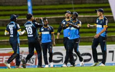 Allround Barbados Tridents pulled off a sensational win on the opening day of CPL