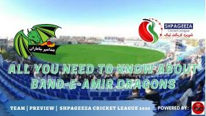 Shpageeza Cricket League All you need to know about Dragons Squad