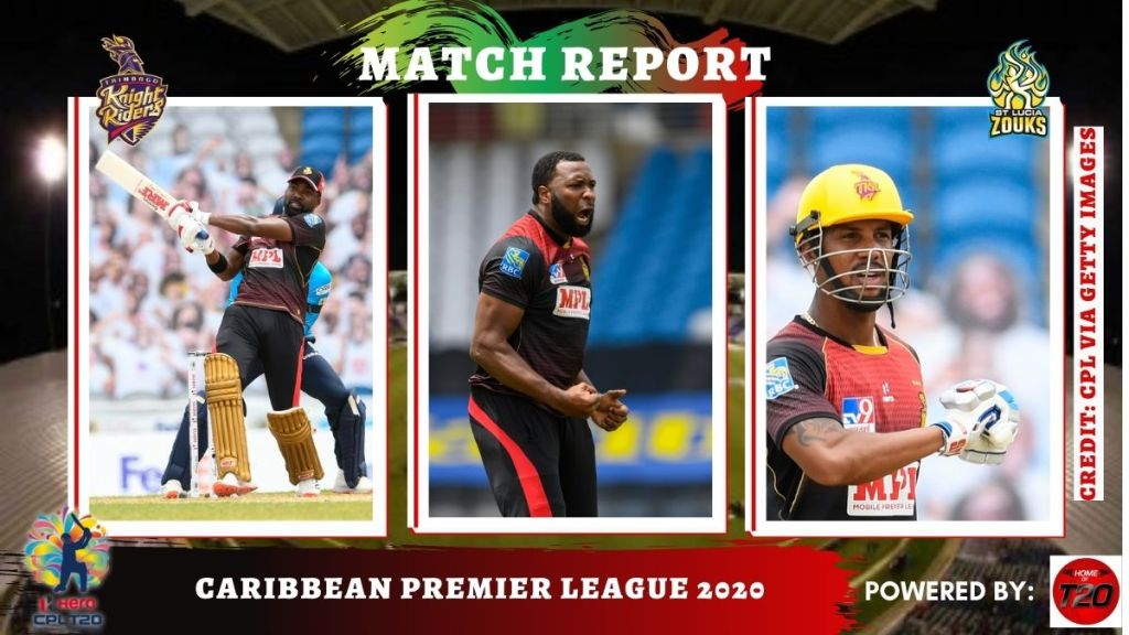 Unstoppable TKR finished the CPL 2020 as champions