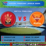 Preview: IPL 2020 Match 3 Sunrisers Hyderabad vs Royal Challengers Bangalore