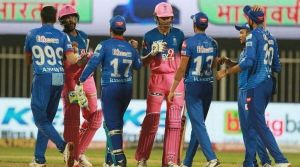 Rajasthan Royals are ready to take on the Delhi Capitals