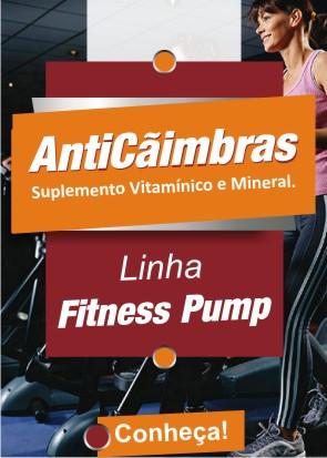 Linha Fitness Pump - Anti-Cãimbras