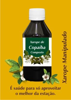 Xarope de Copaiba