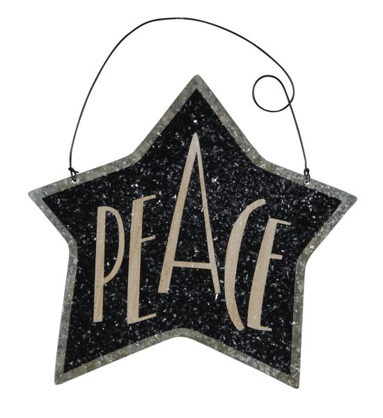 Tin Star Ornament