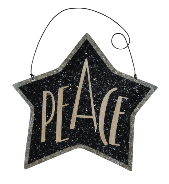 Tin Star Ornament