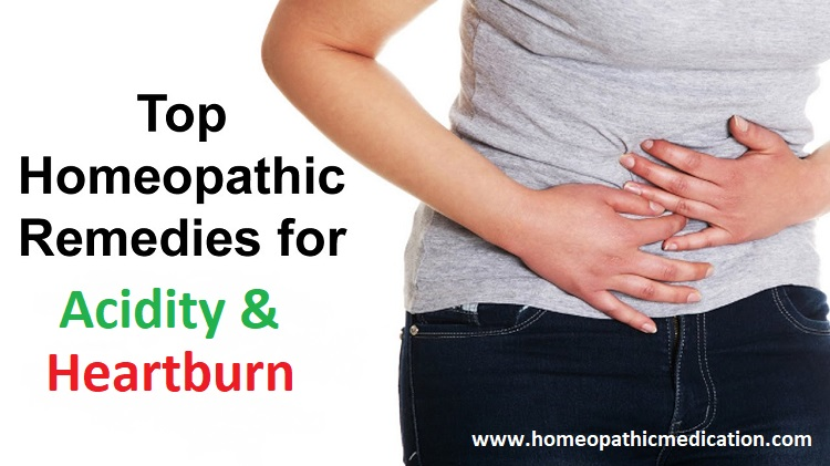 Homeopathic Medicines for Acidity