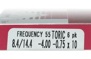 Frequency 55 Toric XR 6pk