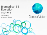 Biomedics 55 Evolution asphere bi-weekly 6pk