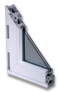 Il serramento in PVC - sezione
