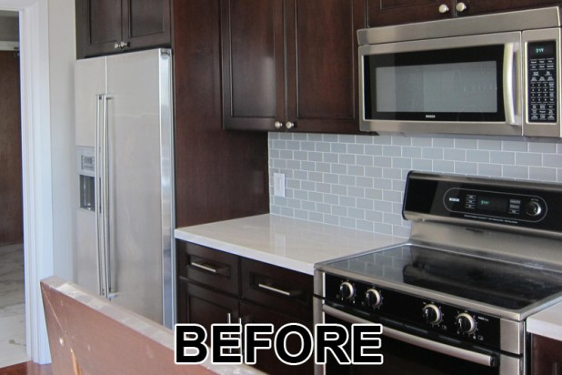 Painted Kitchen Cabinets Vs Stained staining painted cabinets | nrtradiant