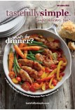 Tastefully Simple Fall Winter 2018 catalog products