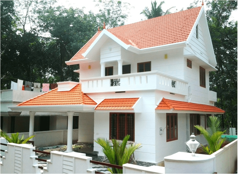 Medium Budget Home Design In Karukutty 1700 Sq Ft Home