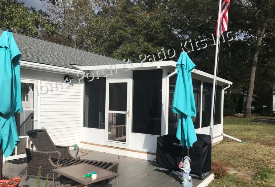 screened patio enclosure kits