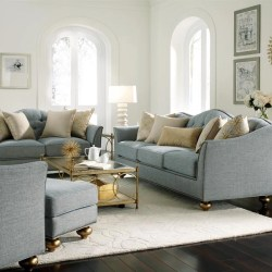 Magnussen Home Janie Aqua Sofa Set