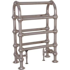 Colossus Horse Steel Towel Rail - 935mm x 625mm (Nickel Finish)