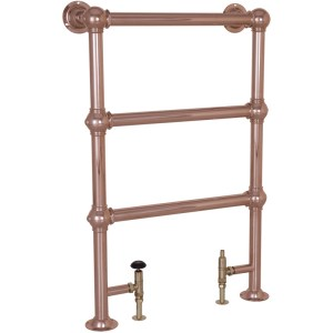 Colossus Steel Towel Rail Copper - 1000mm x 650mm Carron_Home Refresh