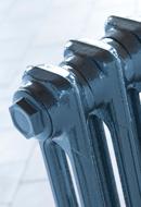 Home Refresh Arroll Victorian 2 Column Cast Iron Radiators 615mm Closeup