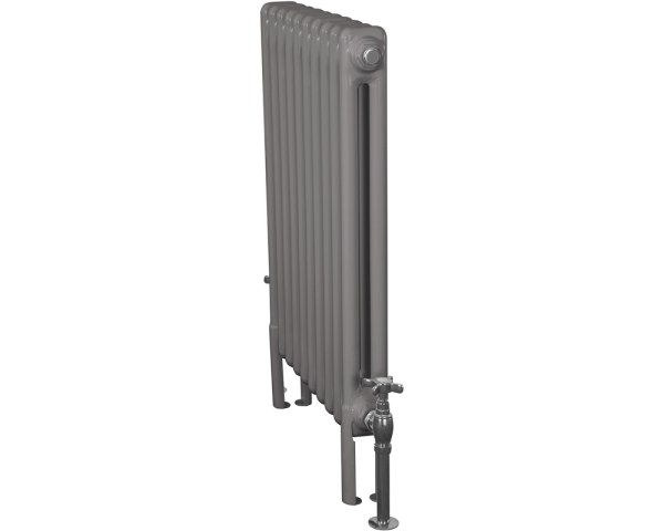 Home-Refresh-Carron-Enderby-2-Column-10-Section-Steel-Radiator-710mm-Farrow-and-Ball Mole's Breath