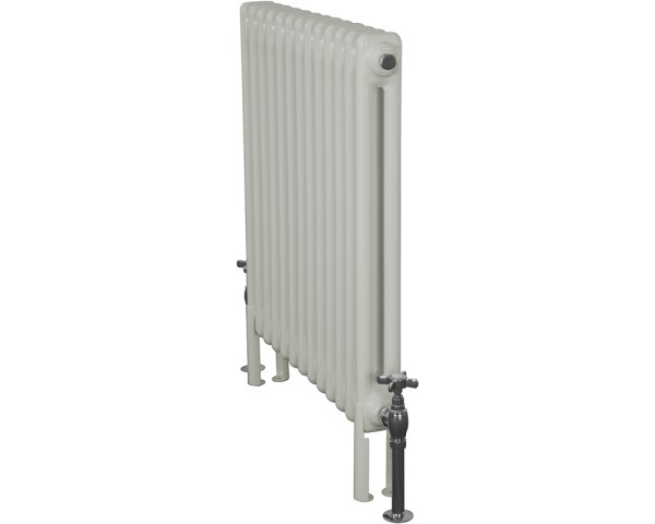 Home Refresh Enderby 2 Column, 13 Section Steel Radiator - 710mm Farrow and Ball Mizzle Colour Finish