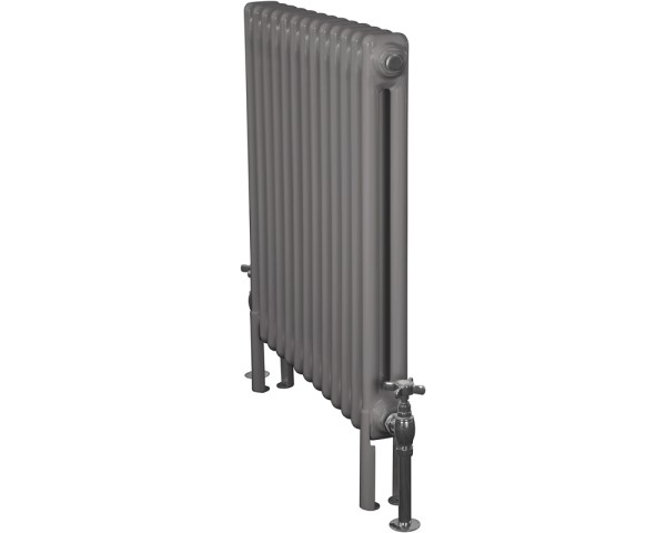 Home-Refresh-Enderby-2-Column-13-Section-Steel-Radiator-710mm-Farrow-and-Ball-Moles-Breath-Colour-Finish