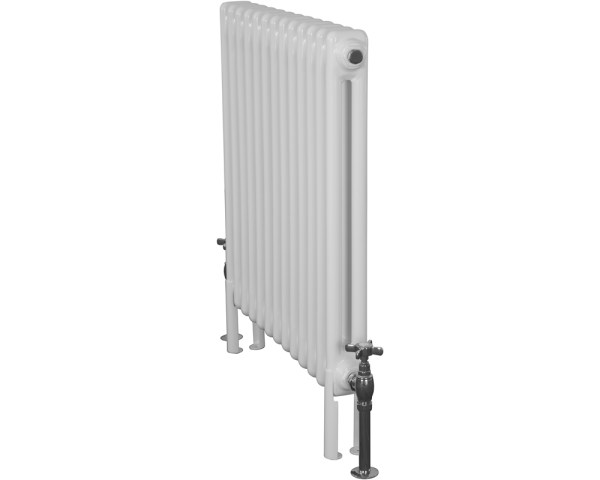 Home-Refresh-Enderby-2-Column-13-Section-Steel-Radiator-710mm-Farrow-and-Ball-Parchement-White-Colour-Finish
